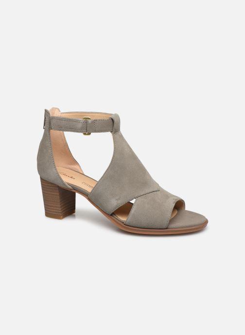 Sandales et nu-pieds Clarks Kaylin60 Glad Vert vue détail/paire