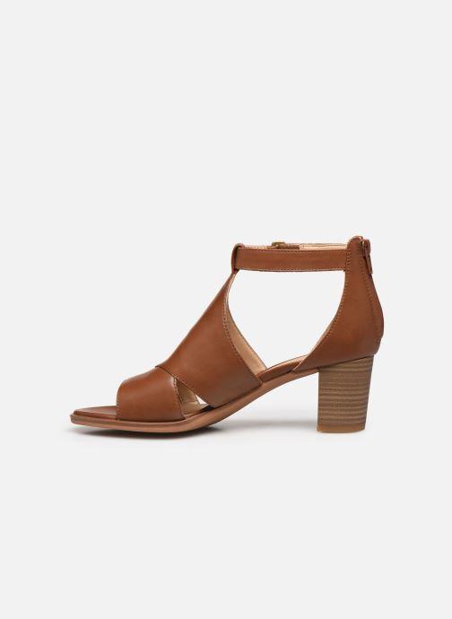Sandales et nu-pieds Clarks Kaylin60 Glad Marron vue face