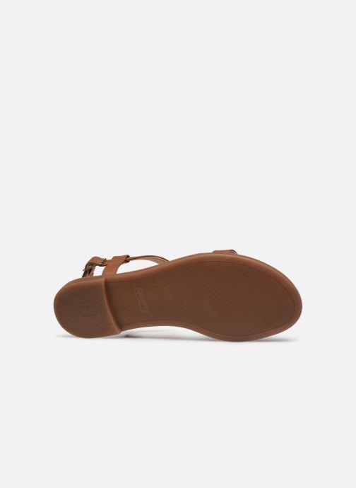 Sandales et nu-pieds Clarks Bay Rosa Marron vue haut