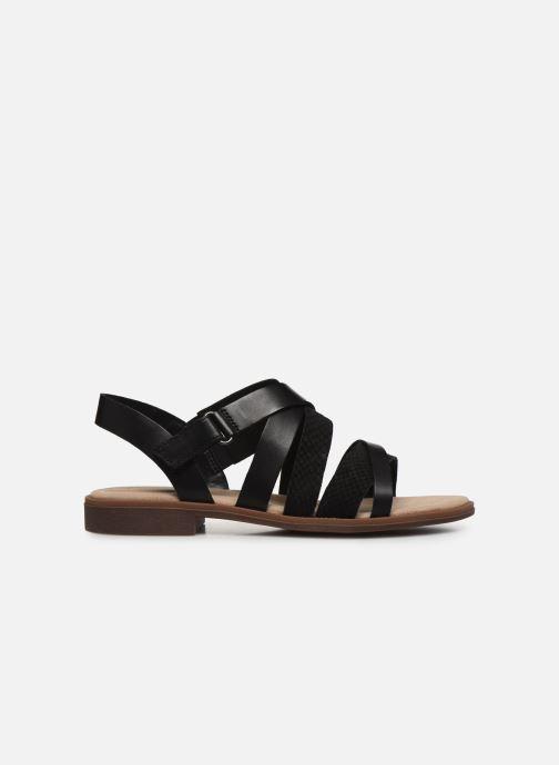 Sandales et nu-pieds Clarks Declan Mix Noir vue derrière