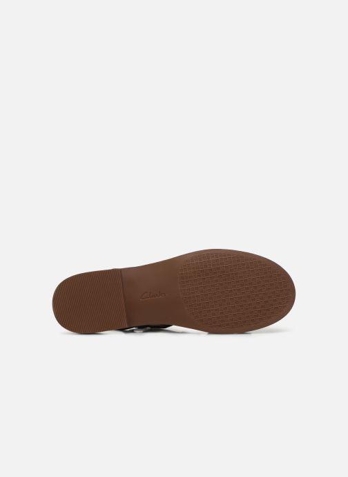 Sandales et nu-pieds Clarks Declan Mix Noir vue haut