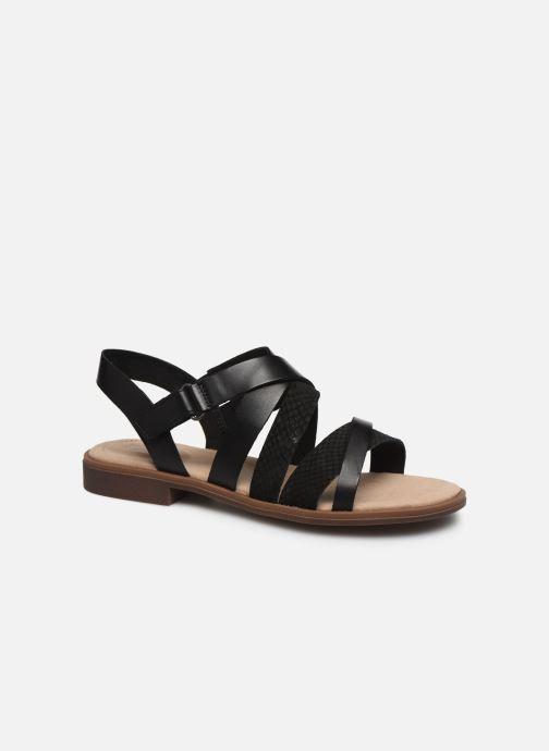 Sandales et nu-pieds Clarks Declan Mix Noir vue détail/paire