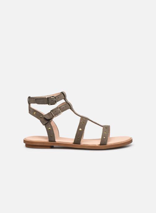 Sandales et nu-pieds Clarks Willow Glad Gris vue derrière
