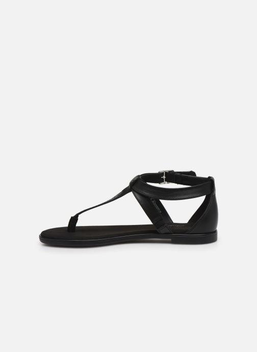 Sandales et nu-pieds Clarks Bay Post Noir vue face