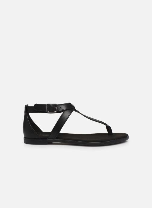 Sandales et nu-pieds Clarks Bay Post Noir vue derrière