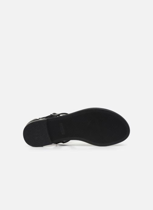 Sandales et nu-pieds Clarks Bay Post Noir vue haut