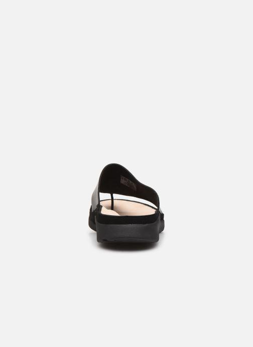 Chaussure Femme Grande Remise Clarks Tri Toe Post Noir Mules et sabots 432439