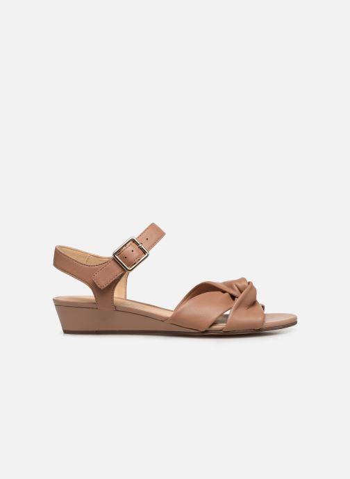 Sandales et nu-pieds Clarks Sense Strap Rose vue derrière