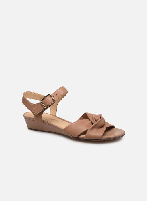 Sandales et nu-pieds Clarks Sense Strap Rose vue détail/paire