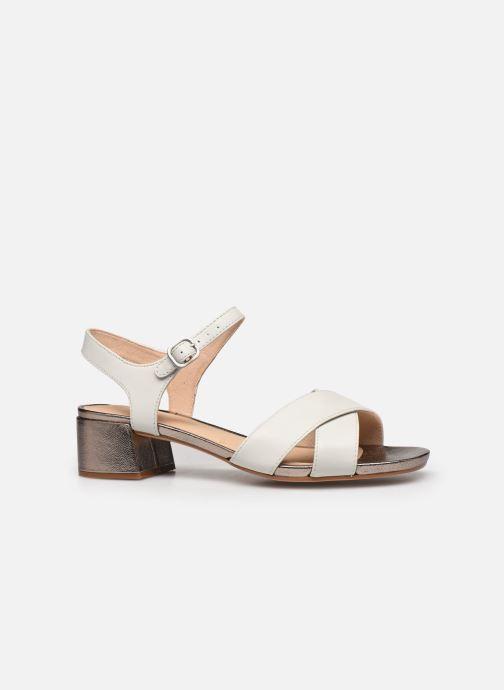 Sandales et nu-pieds Clarks Sheer35 Strap Blanc vue derrière