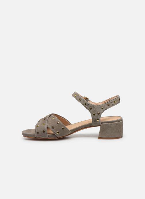 Sandales et nu-pieds Clarks Sheer35 Strap Vert vue face