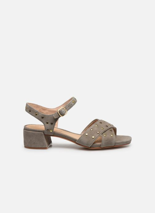 Sandales et nu-pieds Clarks Sheer35 Strap Vert vue derrière