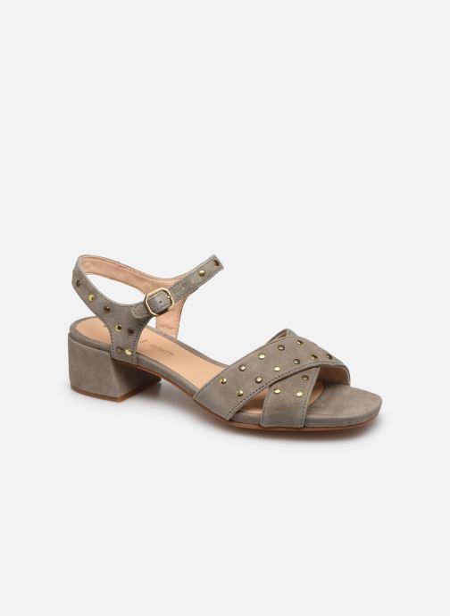 Sandales et nu-pieds Clarks Sheer35 Strap Vert vue détail/paire