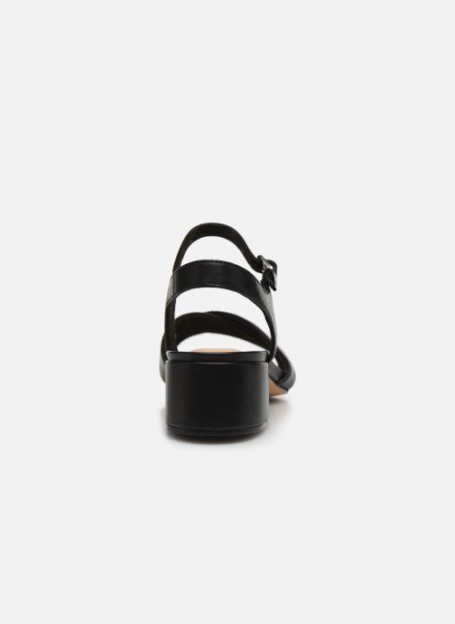 Sandales et nu-pieds Clarks Sheer35 Strap Noir vue droite
