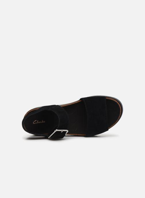 Sandali e scarpe aperte Clarks Botanic Strap Nero immagine sinistra