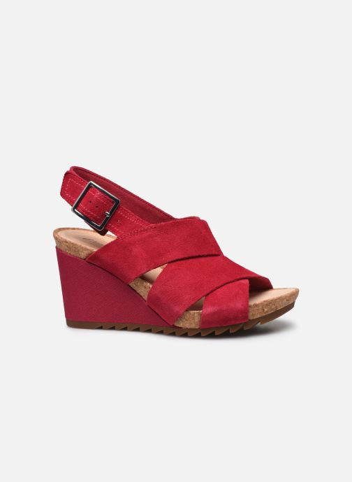 Sandales et nu-pieds Clarks Flex Sand Rose vue derrière