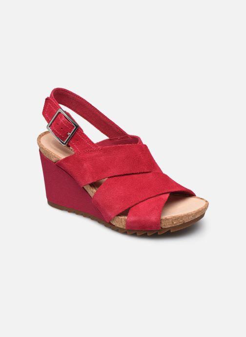 Sandales et nu-pieds Clarks Flex Sand Rose vue détail/paire