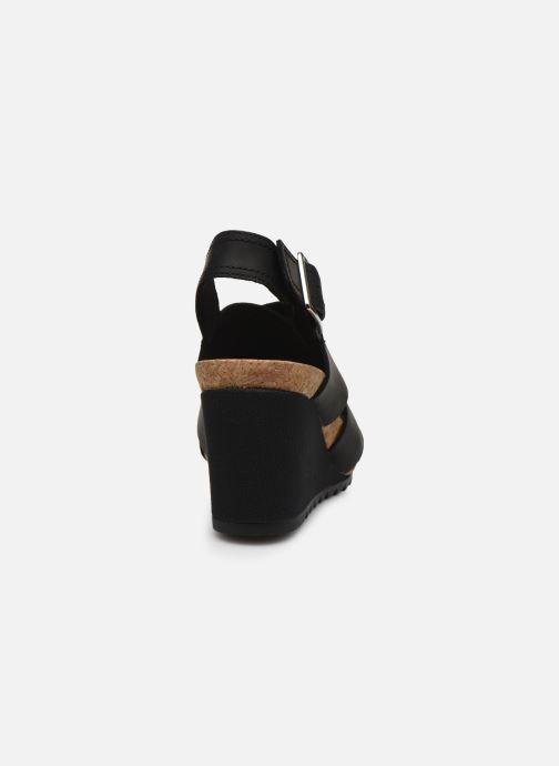 Sandales et nu-pieds Clarks Flex Sand Noir vue droite