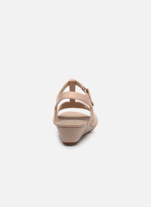 Sandales et nu-pieds Clarks Abigail Daisy Rose vue droite