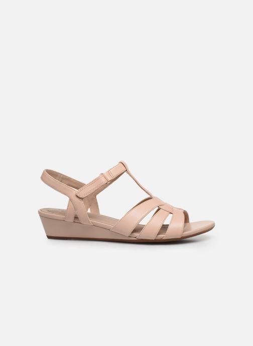 Sandales et nu-pieds Clarks Abigail Daisy Rose vue derrière