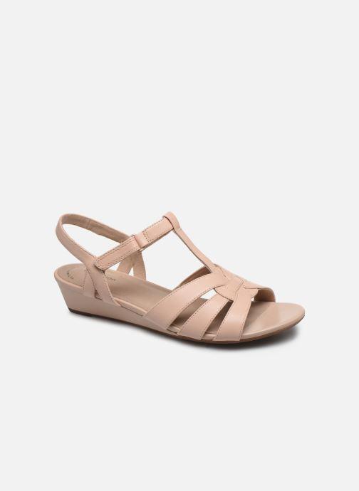 Sandales et nu-pieds Clarks Abigail Daisy Rose vue détail/paire