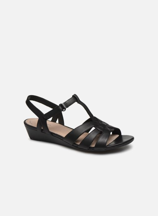 Sandales et nu-pieds Clarks Abigail Daisy Noir vue détail/paire