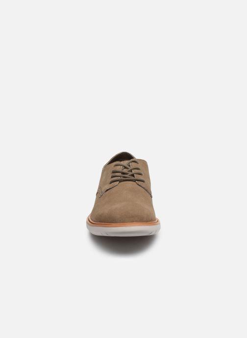 Chaussures à lacets Clarks Draper Lace Vert vue portées chaussures