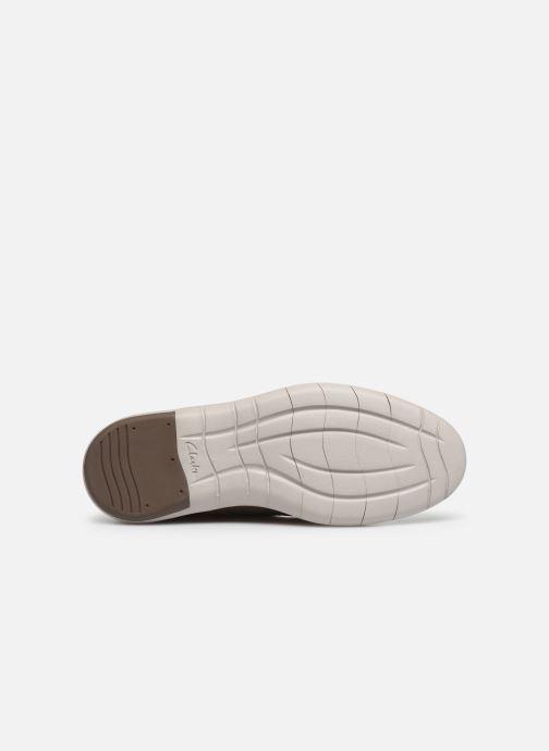 Chaussures à lacets Clarks Draper Lace Vert vue haut