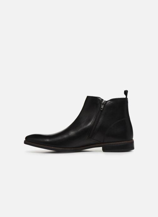 Bottines et boots Clarks Stanford Zip Noir vue face