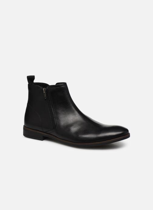 Bottines et boots Clarks Stanford Zip Noir vue détail/paire
