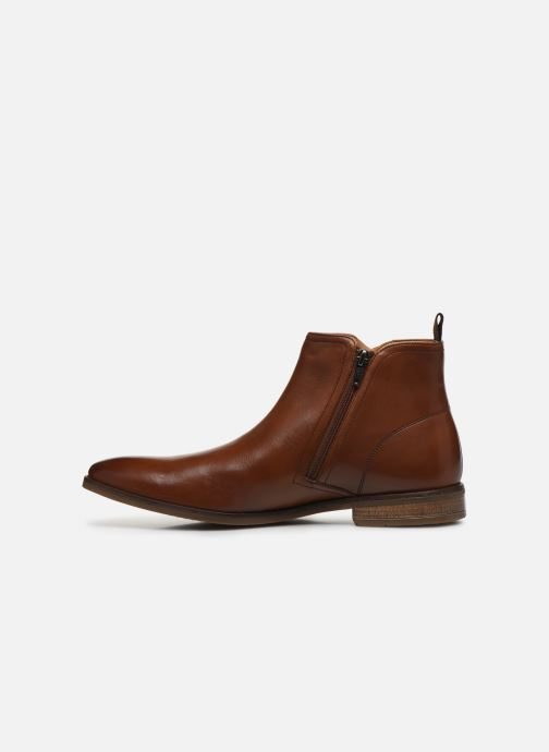 Ankle boots Clarks Stanford Zip Brown front view