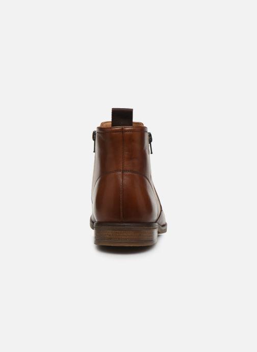 Bottines et boots Clarks Stanford Zip Marron vue droite