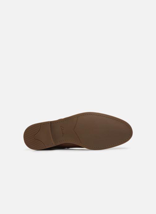 Bottines et boots Clarks Stanford Zip Marron vue haut