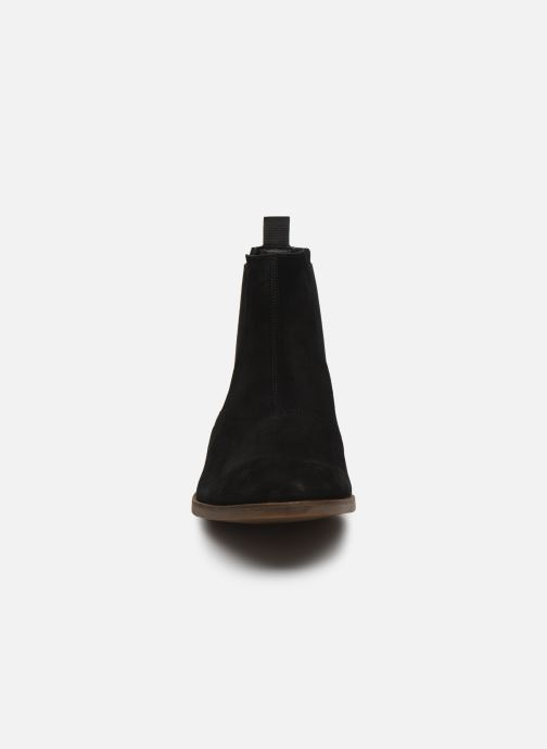 Bottines et boots Clarks Stanford Top Noir vue portées chaussures