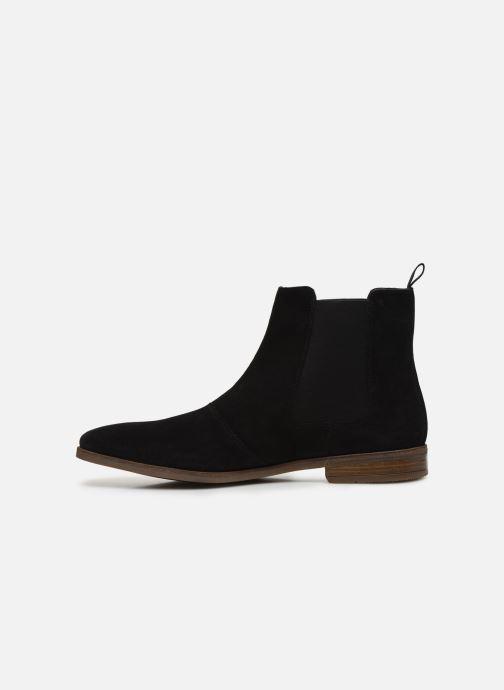 Bottines et boots Clarks Stanford Top Noir vue face