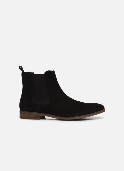 Bottines et boots Clarks Stanford Top Noir vue derrière