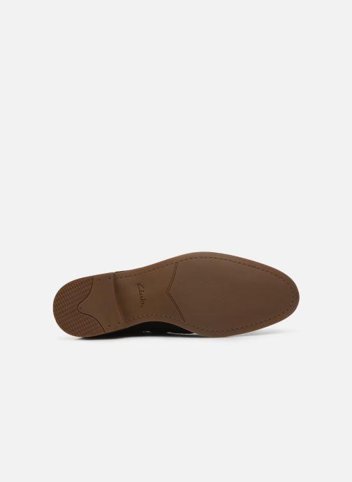 Bottines et boots Clarks Stanford Top Noir vue haut