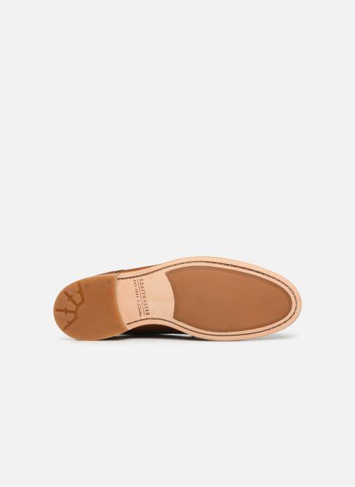 Zapatos con cordones Clarks Oliver Lace Marrón vista de arriba
