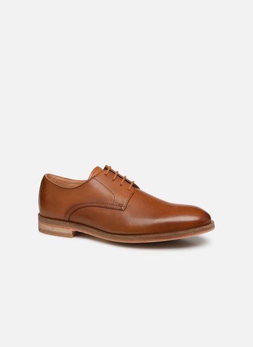 Zapatos con cordones Clarks Oliver Lace Marrón vista de detalle / par