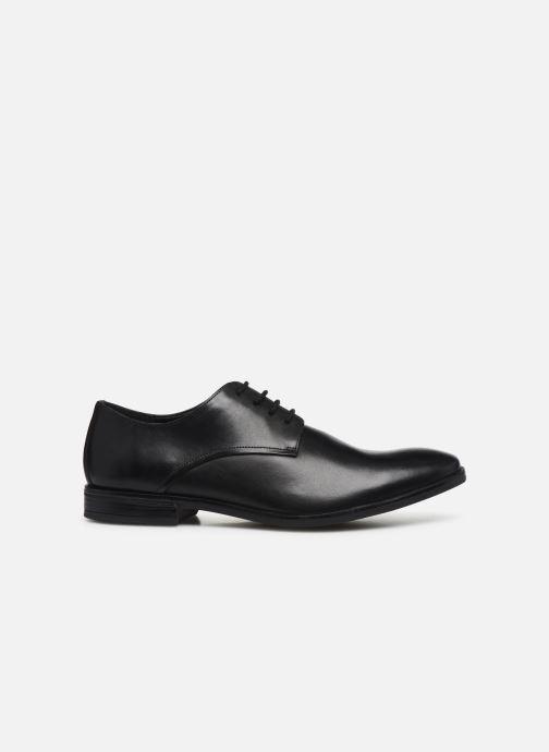 Chaussures à lacets Clarks Stanford Walk Noir vue derrière