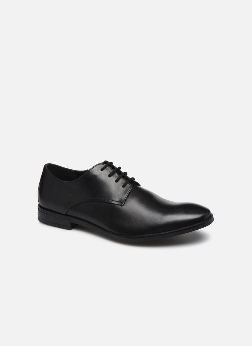 Chaussures à lacets Clarks Stanford Walk Noir vue détail/paire