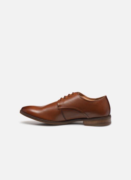 Chaussures à lacets Clarks Stanford Walk Marron vue face