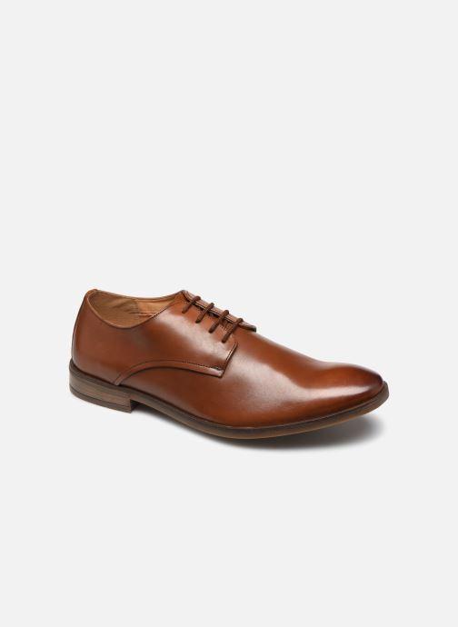 Chaussures à lacets Clarks Stanford Walk Marron vue détail/paire
