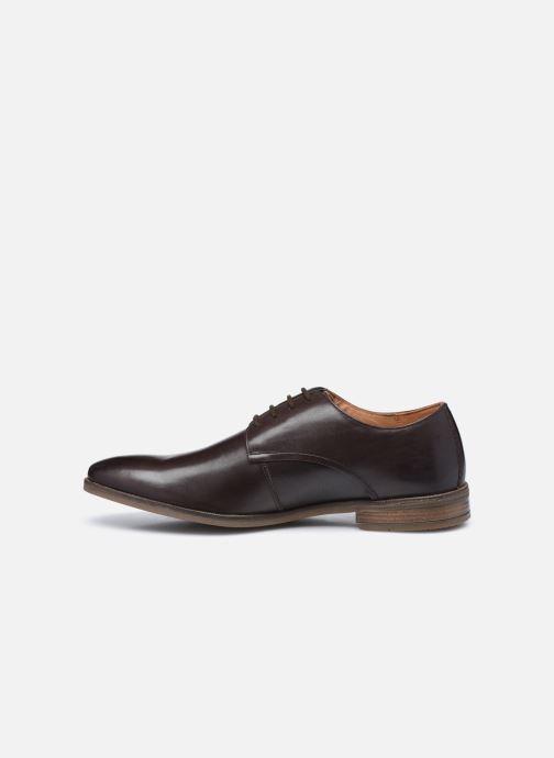 Zapatos con cordones Clarks Stanford Walk Marrón vista de frente