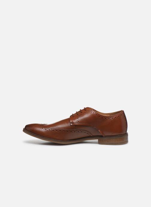 Chaussures à lacets Clarks Stanford Limit Marron vue face