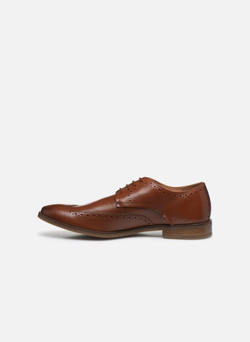 Zapatos con cordones Clarks Stanford Limit Marrón vista de frente