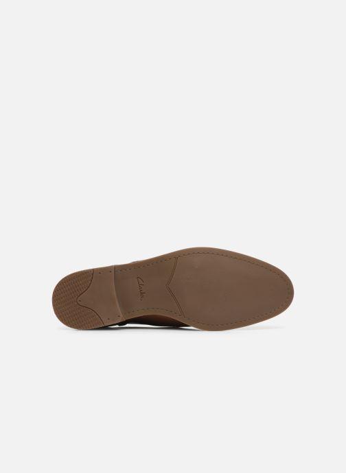 Chaussures à lacets Clarks Stanford Limit Marron vue haut