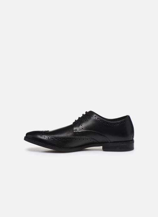 Chaussures à lacets Clarks Stanford Limit Noir vue face