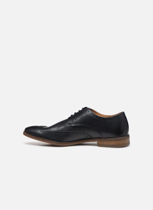 Chaussures à lacets Clarks Stanford Limit Bleu vue face
