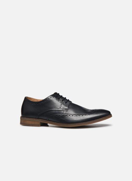 Chaussures à lacets Clarks Stanford Limit Bleu vue derrière